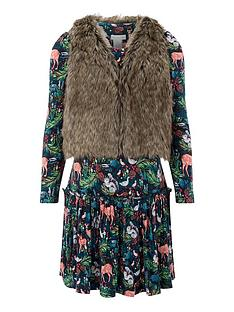 monsoon-whitney-woodland-dress-and-gilet