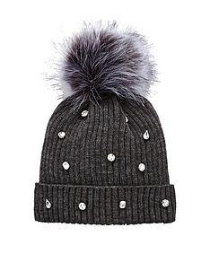 v-by-very-jewel-embellished-beanie-grey