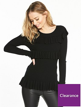v-by-very-ribbed-tiered-frill-jumper