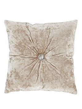 catherine-lansfield-crushed-velvet-cushion