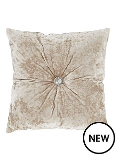 crushed-velvet-cushion