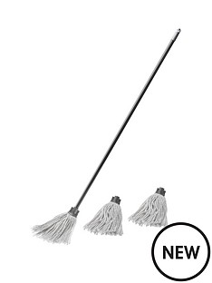 addis-cotton-mop-amp-2-refill-cotton-mop-heads