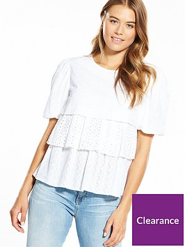 boss-tierednbspbroderie-anglaise-and-lace-blouse-white