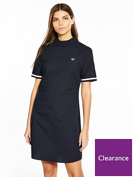 fred-perry-reverse-collar-dress--nbspnavynbsp