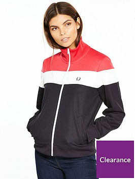 fred-perry-colour-block-track-jacket-blackredwhite
