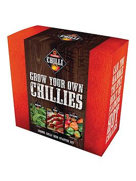 Very Grow Your Own Chilli Set Picture