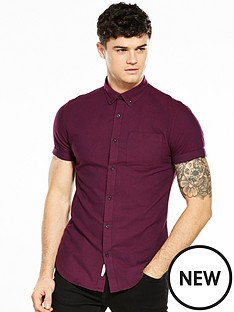 river-island-short-sleeved-oxford-shirt