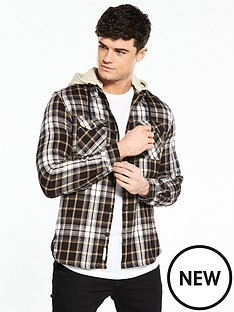 river-island-long-sleeved-hooded-check-shirt