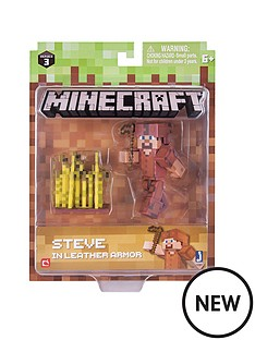 minecraft-steve-with-leather-armour