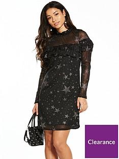v-by-very-star-frill-dress