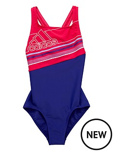 adidas-older-girl-block-swimsuit
