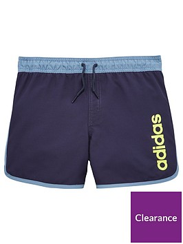 adidas-older-boy-split-hem-swimshort