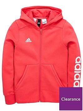 adidas-older-girl-linear-full-zip-hoody