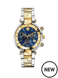 versace-revive-chronograph-blue-dial-two-tone-braceletnbspwatch