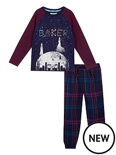 baker-by-ted-baker-boys039-navy-constellation-print-glow-in-the-dark-pyjama-set