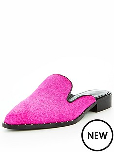 v-by-very-missy-real-leather-backless-mule-pink