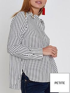 ri-petite-ri-petite-striped-bow-back-shirt