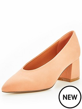v-by-very-opal-high-vamp-low-block-heel-court-shoe-peach