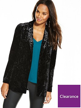 wallis-velvet-jacket-black