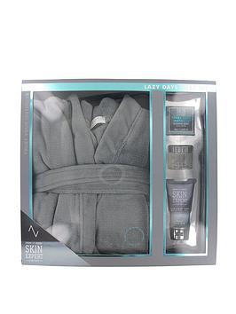style-grace-skin-expert-lazy-days-mens-bath-robe-gift-set