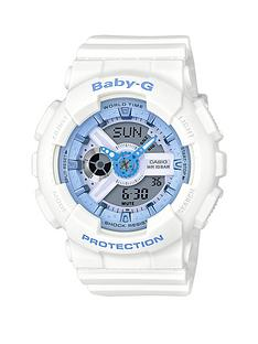 casio-baby-g-casio-baby-g-white-resin-strap-ladies-watch