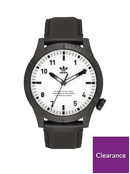 adidas-adidas-cypher-lx1-black-white-leather-strap-mens-watch