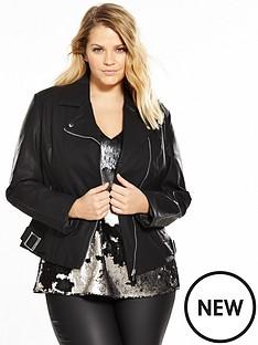 lost-ink-curve-biker-jacket-with-asymmetric-zip-black