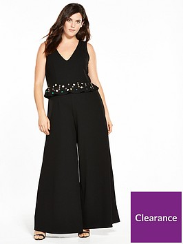 lost-ink-curve-jumpsuit-with-embellishment-black