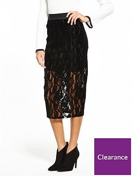 lost-ink-flocked-lace-pencil-skirt-black