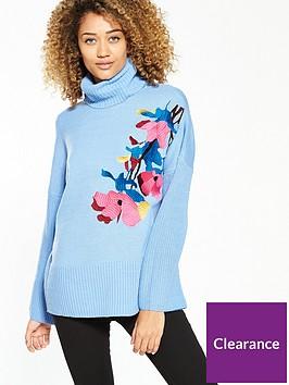 lost-ink-floral-embroiderednbspjumper-blue