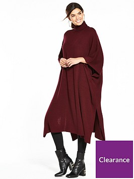v-by-very-roll-neck-longline-poncho