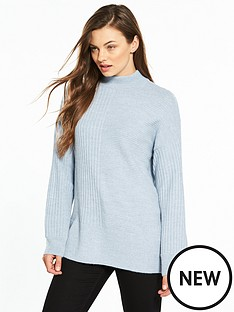 v-by-very-funnelnbspneck-cut-about-rib-jumper
