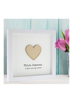 personalised-frame-heart