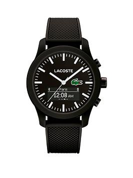 lacoste-lacoste-212-contact-smart-black-dial-silicone-strap-smartwatch
