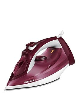 philips-powerlife-steam-iron-gc299746-withnbsp160g-steam-boost-white-amp-maroon