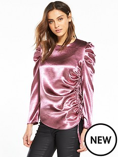 v-by-very-statement-sleeve-satin-top