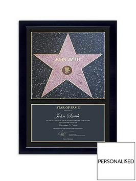 personalised-star-frame-picture
