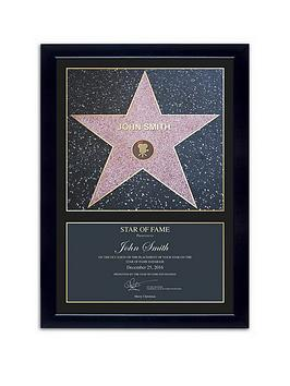 Very Personalised Star Frame Picture Picture