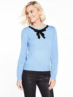 oasis-jackie-embellished-bow-knit-jumper