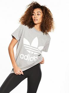 adidas-originals-adicolor-big-trefoil-tee-grey