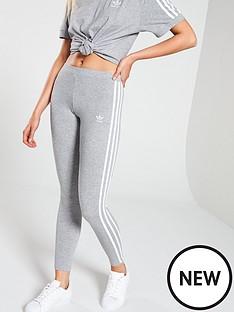 adidas-originals-adicolor-3-stripe-tights-grey