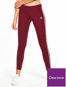 adidas-originals-adicolor-3-stripe-tights-burgundy