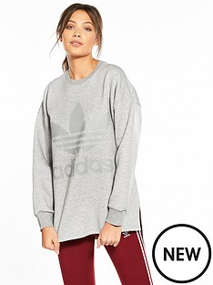 adidas-originals-sweatshirt-medium-grey-heathernbsp