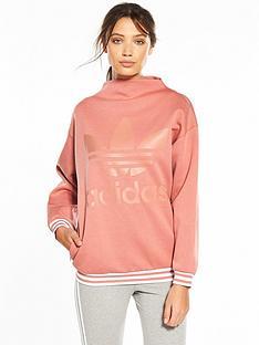 adidas-originals-high-neck-sweater-pink