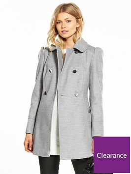 miss-selfridge-petite-grey-pea-coat