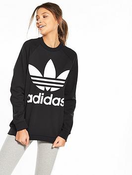 adidas-originals-adicolornbspoversized-sweater-black