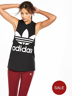 adidas-originals-adicolor-trefoil-tank-black