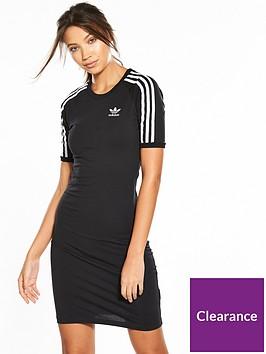 adidas-originals-adicolor-3-stripesnbsptee-dress