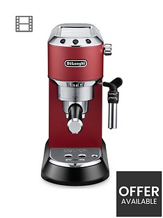 delonghi-dedica-pump-coffeenbspmachine-red