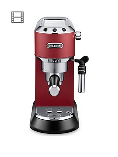 delonghi-dedica-pump-machine-red